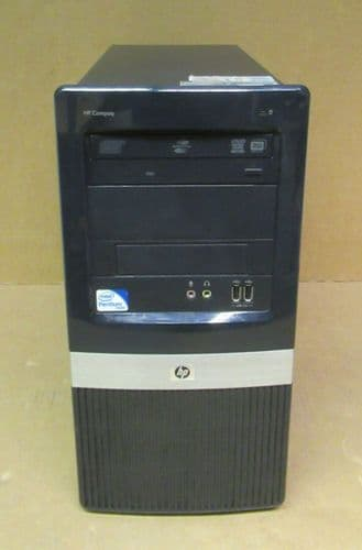 HP Compaq dc2420 Tower PC Pentium E5300 2.6GHz 4GB Ram 320GB HDD GeForce GT710